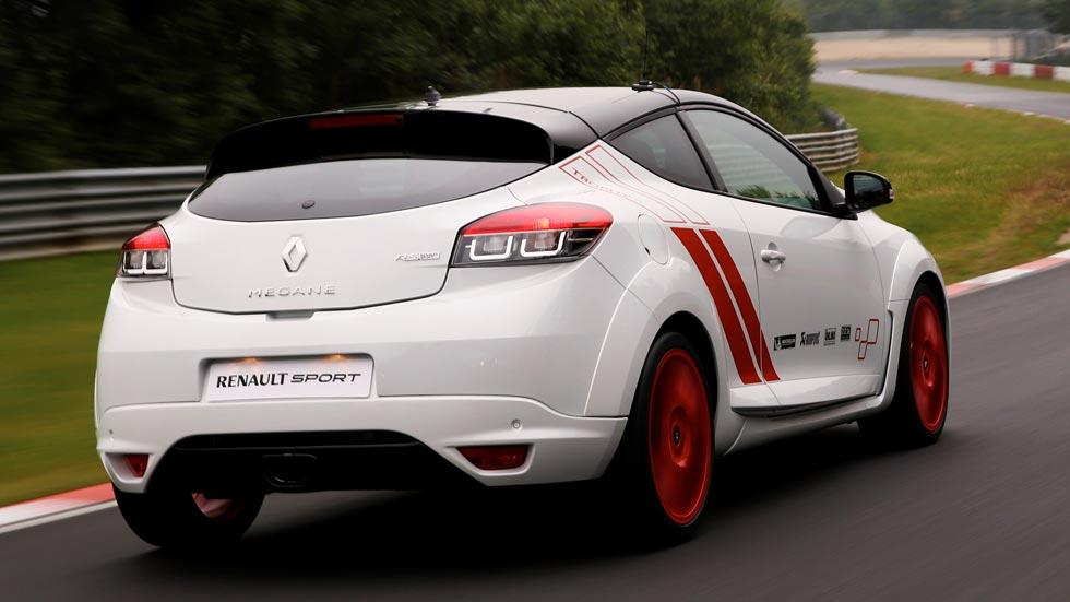 Renault Megane RS Trophy R trasera deportivo circuito