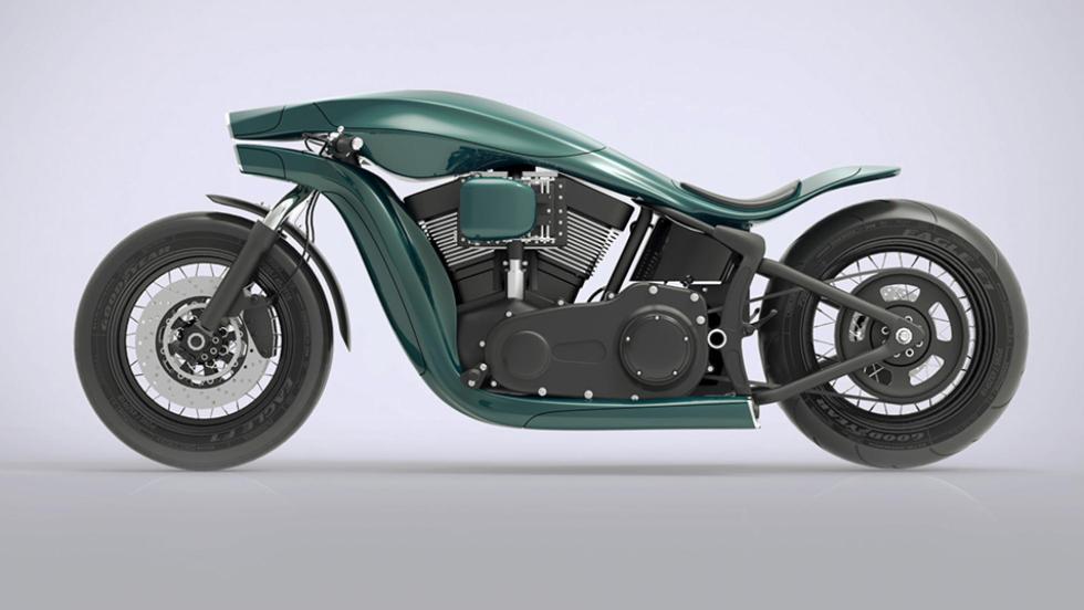 Render Harley Davidson (I)