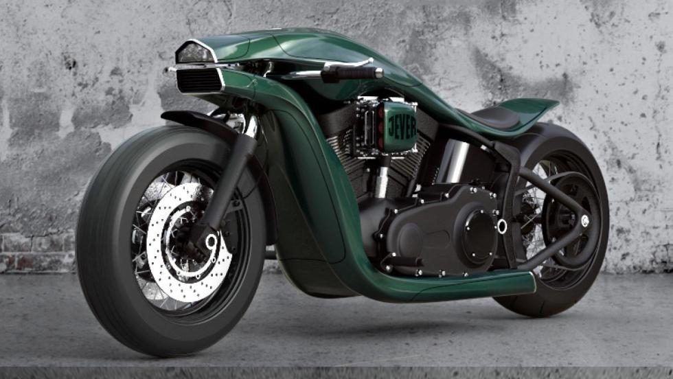 Render Harley Davidson (VII)