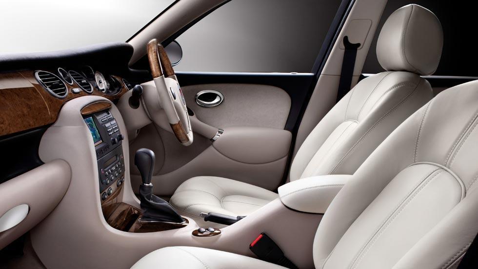 Rover 75 V8 interior