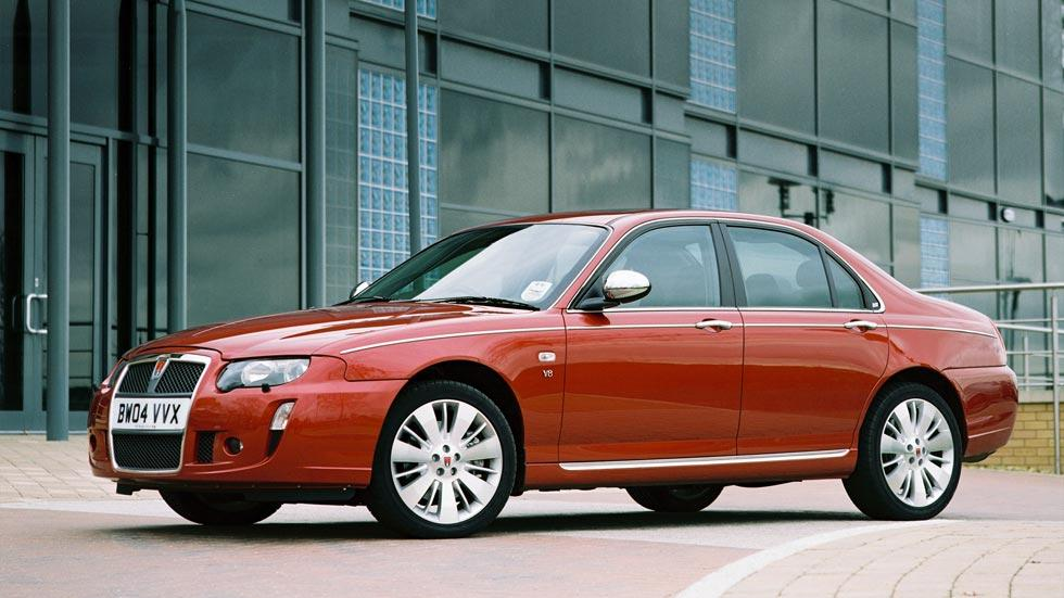 Rover 75 V8 lateral