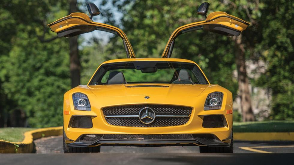 El Mercedes SLS AMG con sus Alas de Gaviota