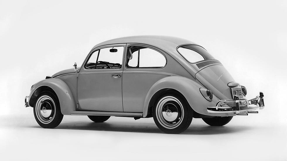 Volkswagen Beetle trasera 64 harrison