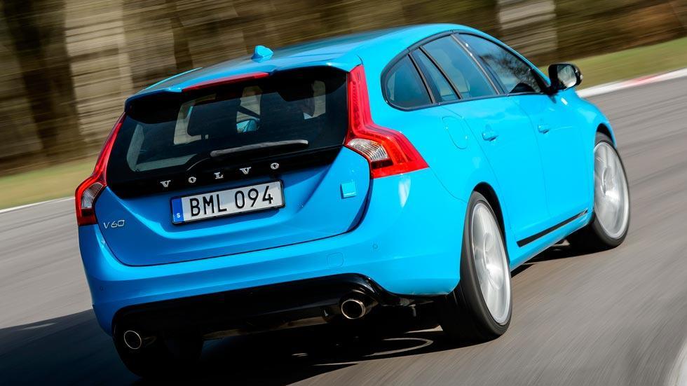 Volvo V60 Polestar trasera familiar deportivo