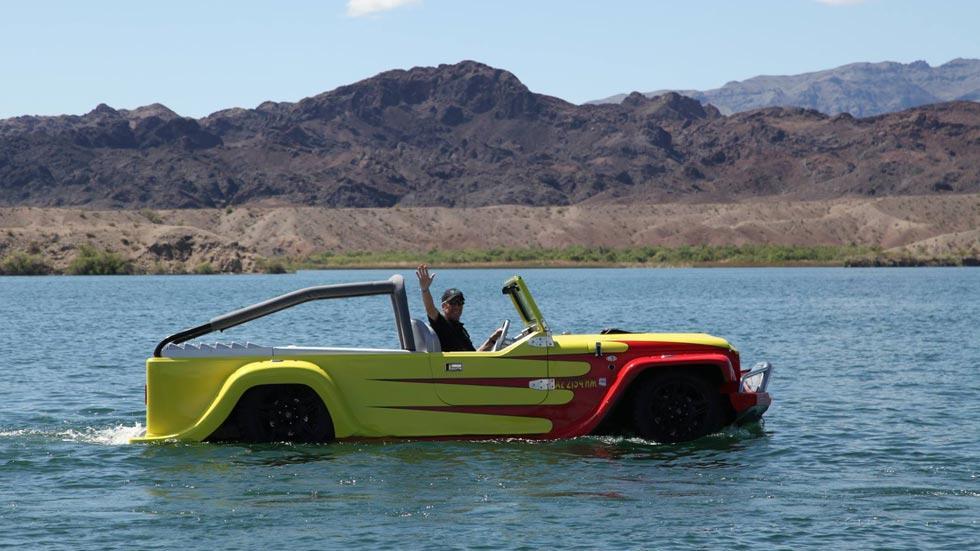 Watercar coche anfibio mar agua