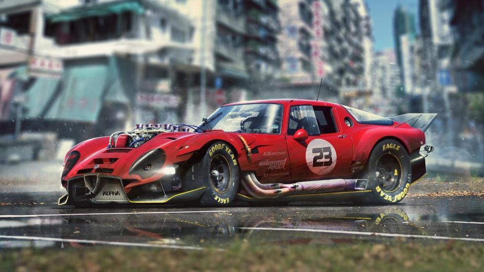 Yasid Oozeear Alfa Romeo T33 render