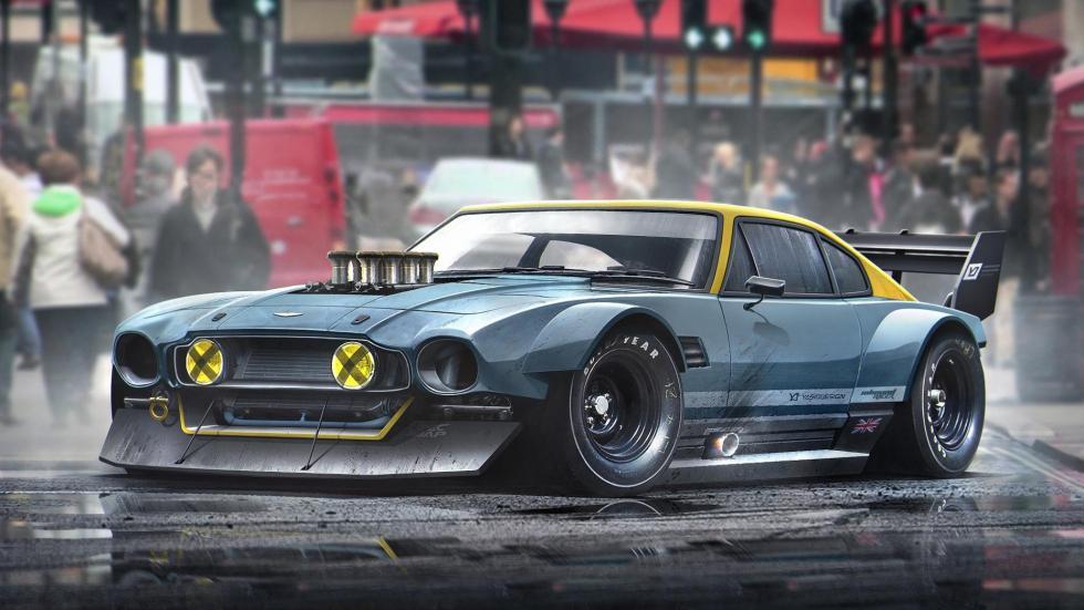 Yasid Oozeear Aston Martin Clásico diseño