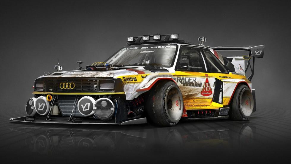Yasid Oozeear Audi Quattro diseño dibujo