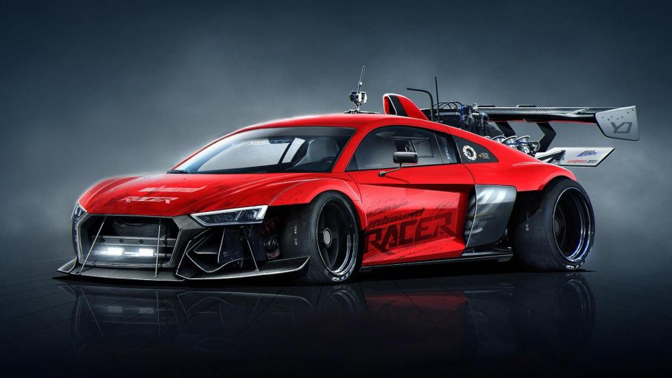 Yasid Oozeear Audi R8 dibujo radical