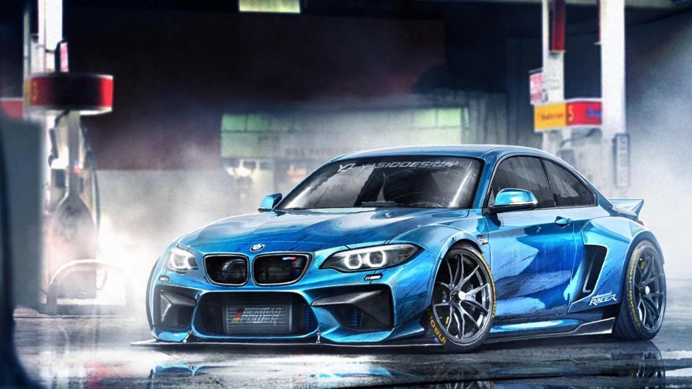 Yasid Oozeear BMW M2 diseño dibujo