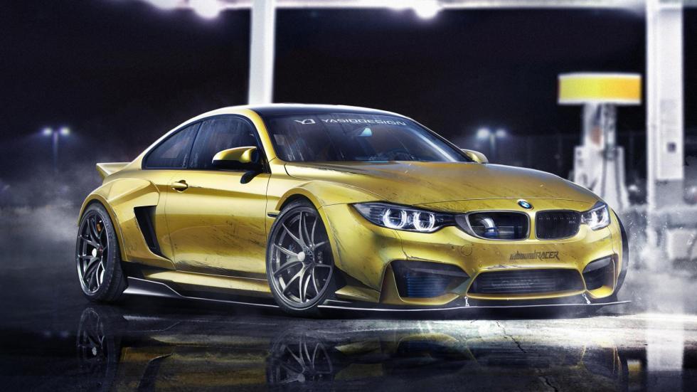 Yasid Oozeear BMW M4 diseño