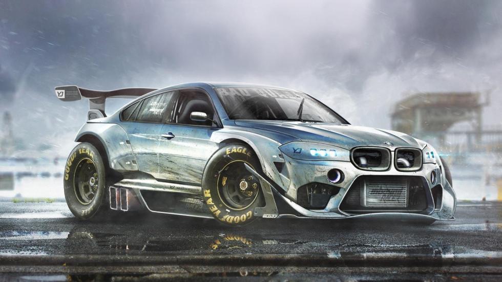 Yasid Oozeear BMW X6 render diseño dibujo