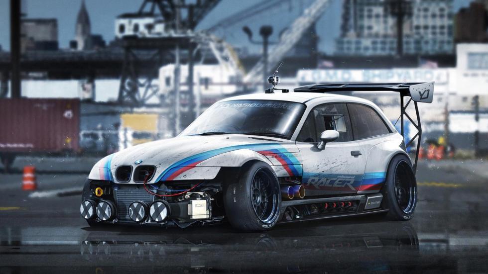 Yasid Oozeear BMW Z3 coupe render