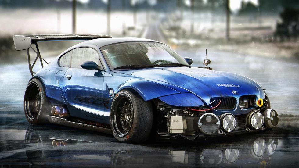 Yasid Oozeear BMW Z4 render