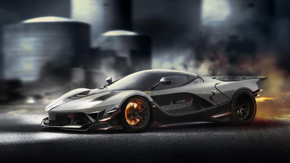 Yasid Oozeear Ferrari FXX-K diseño render