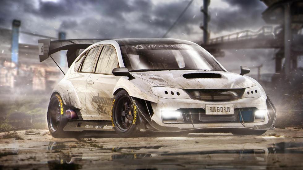 Yasid Oozeear Subaru Impreza