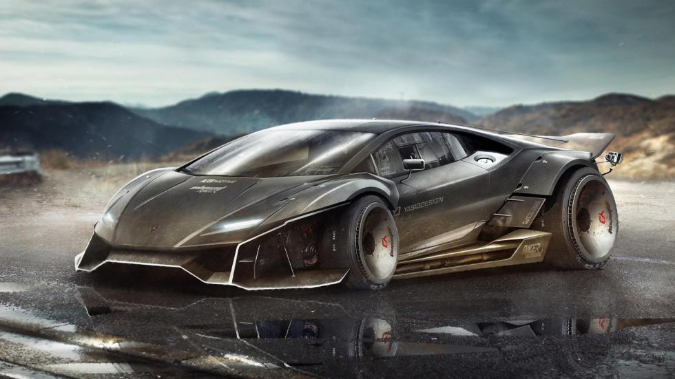 Yasid Oozeear Lamborghini diseño