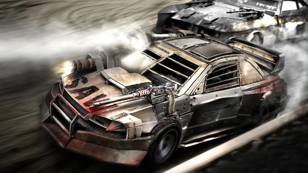 Yasid Oozeear Mad Max diseño dibujo