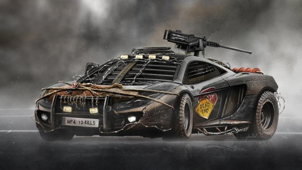 Yasid Oozeear McLaren Mp4 guerra mad max