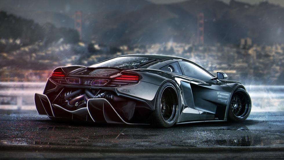 Yasid Oozeear McLaren difusor diseño