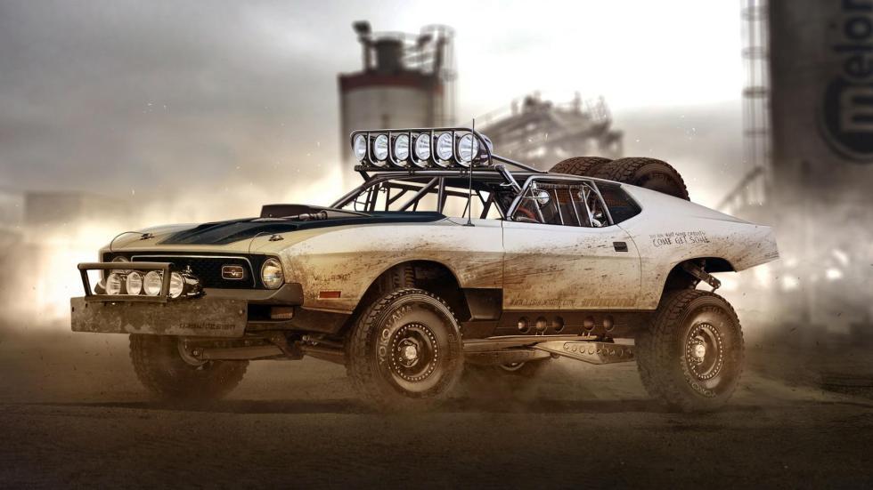 Yasid Oozeear Mustang SUV diseño mad max