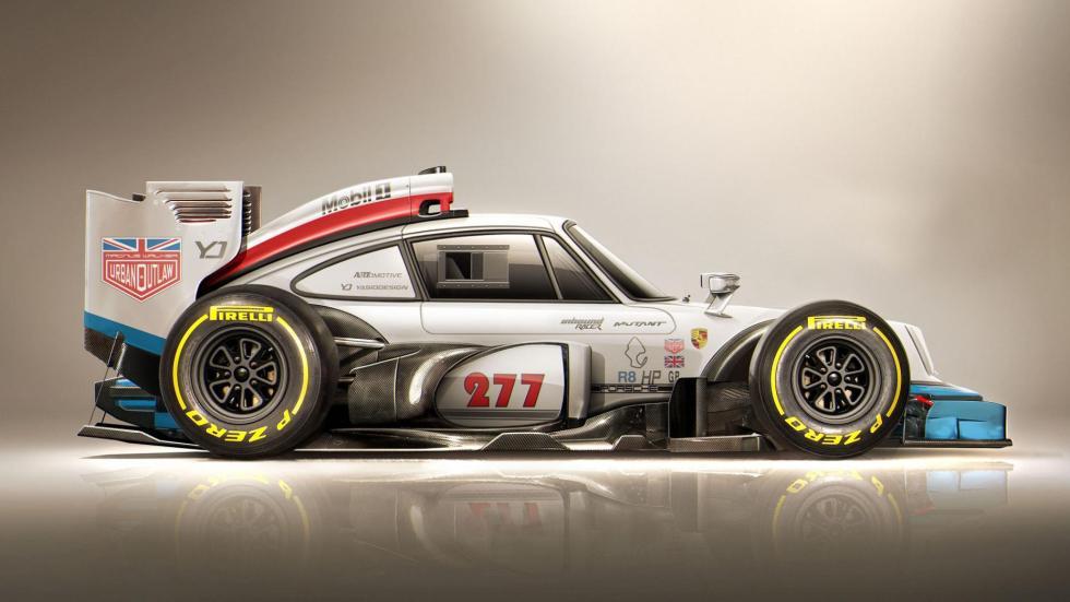 Yasid Oozeear Porsche 911 diseño