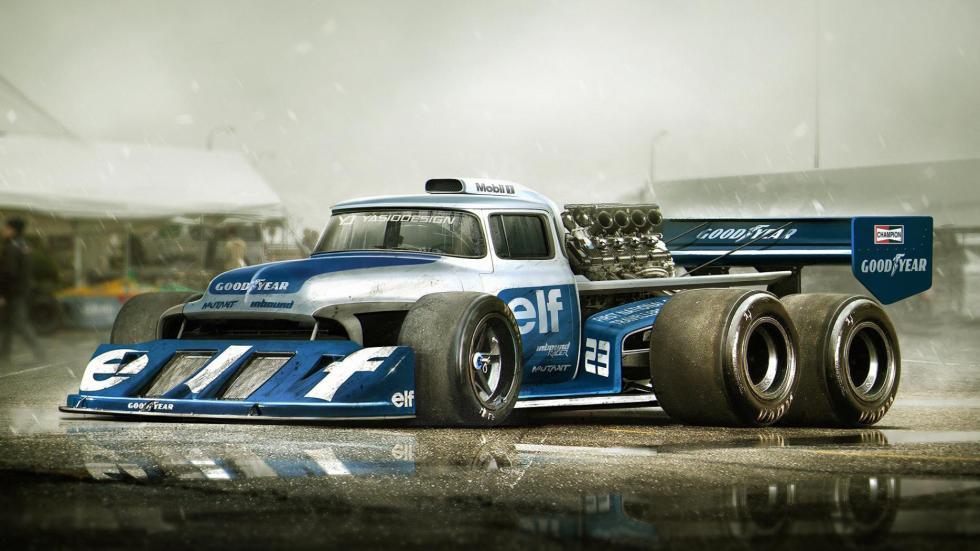 Yasid Oozeear seis ruedas F1 Formula 1