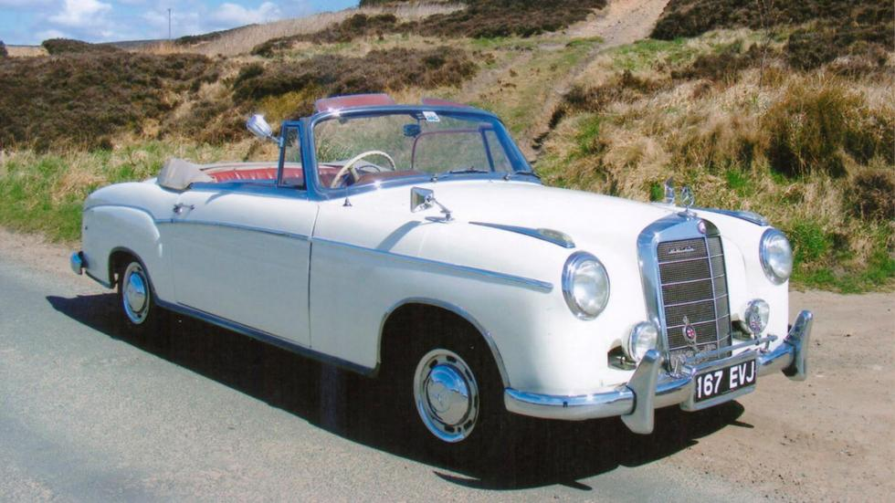 1957 Mercedes 220S Cabriolet