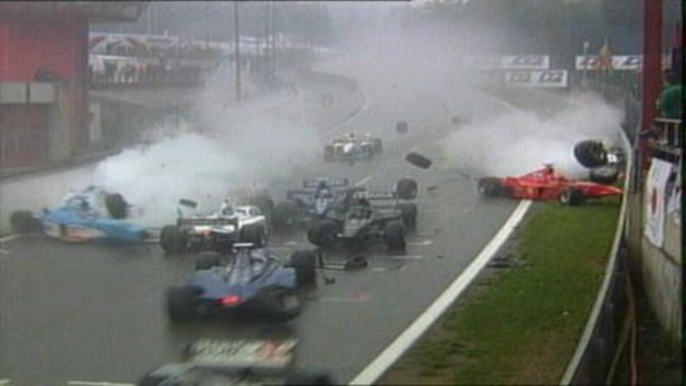 Los 5 mejores momentos del GP Bélgica