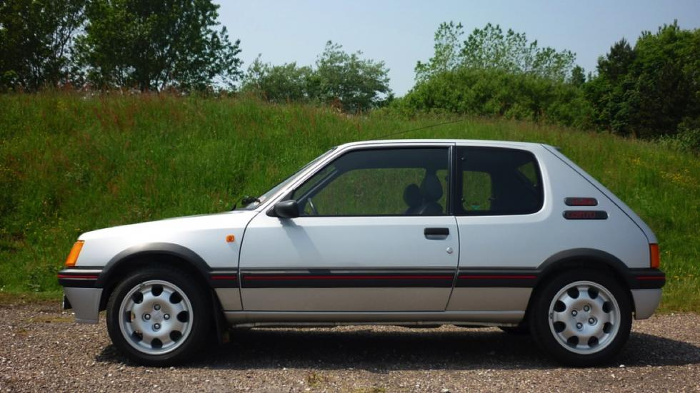 Peugeot 205 GTi 1989 lateral