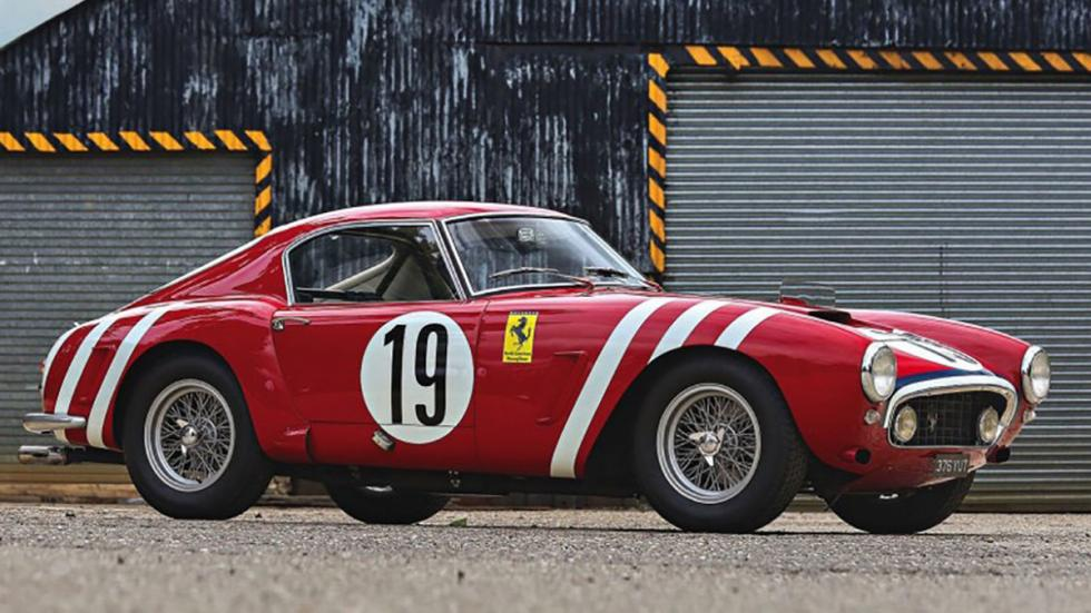 coches-más-caros-subastados-monterey-Ferrari-250-GT-SWB-Competizione-Coupe-1960