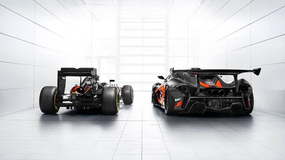 McLaren P1 GTR decorado como el McLaren-Honda MP4/31 de F1 zaga