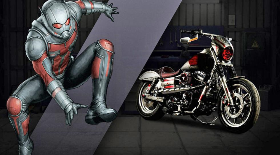 Ant Man - Harley-Davidson Low Rider