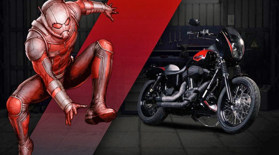 Ant Man - Harley-Davidson Street Bob