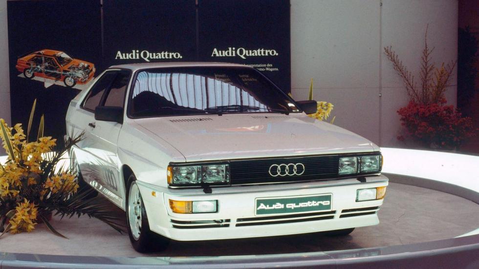 Audi Quattro 1980 coupe deportivo
