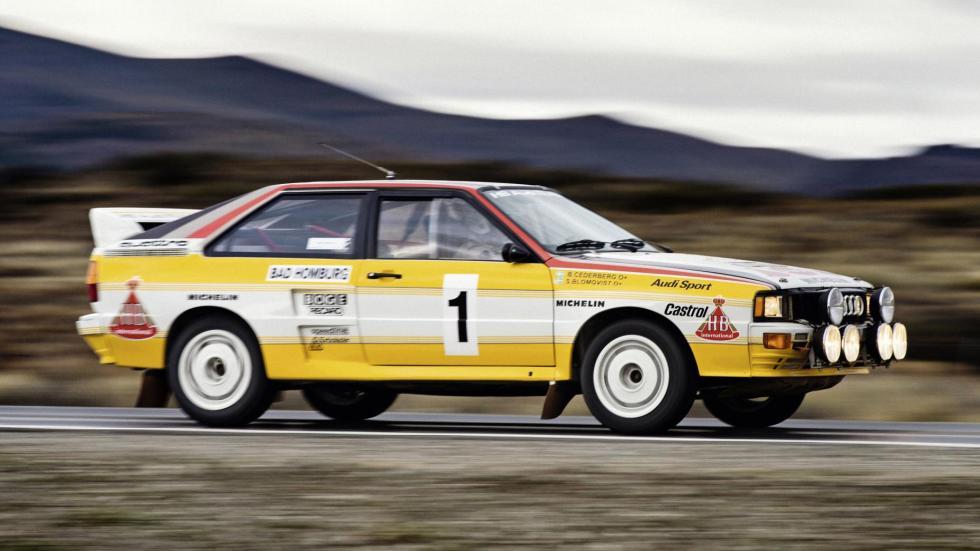 Audi Quattro Grupo B motorsport radical