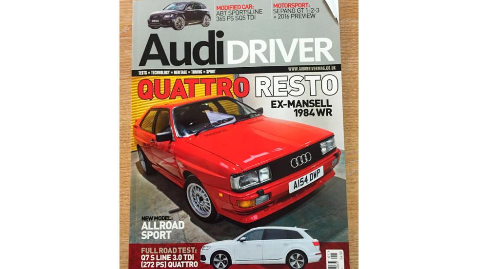 Audi Quattro Nigel Mansell (XI)
