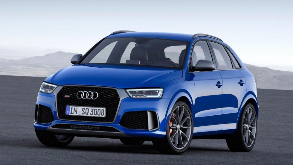 Audi RS Q3 SUV deportivo radical