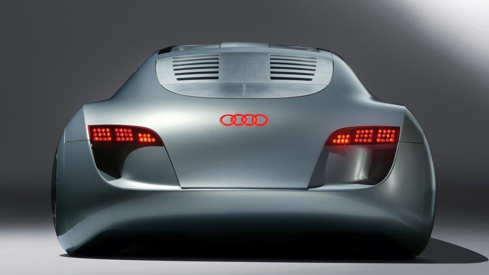 Audi RSQ trasera cine película Yo Robot