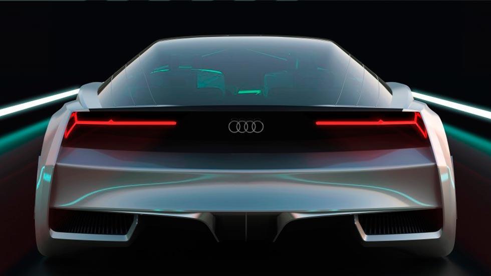 Audi Shuttle Quattro trasera película cine