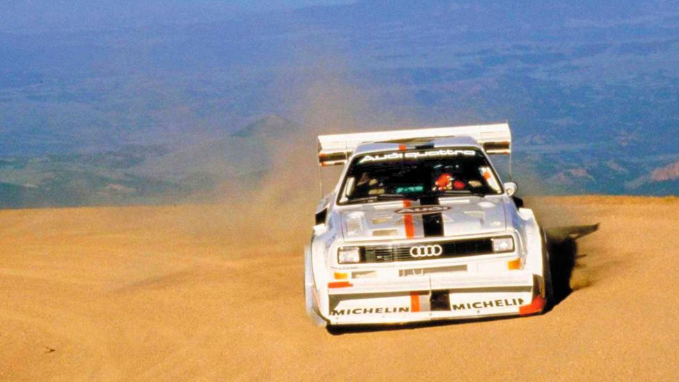 Audi Sport Quattro S1 Pikes Peak Walter Rohl