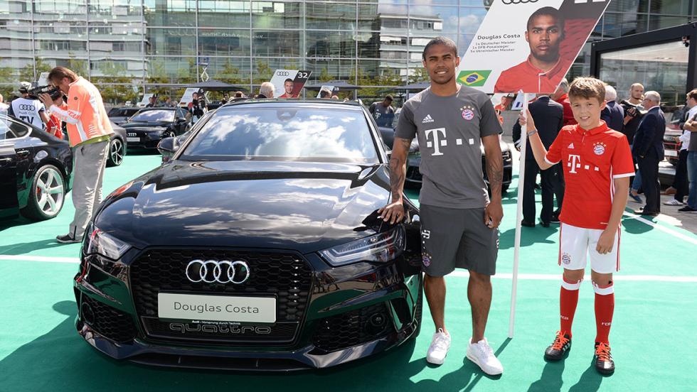 El Bayern comienza la temporada estrenando sus nuevos Audi