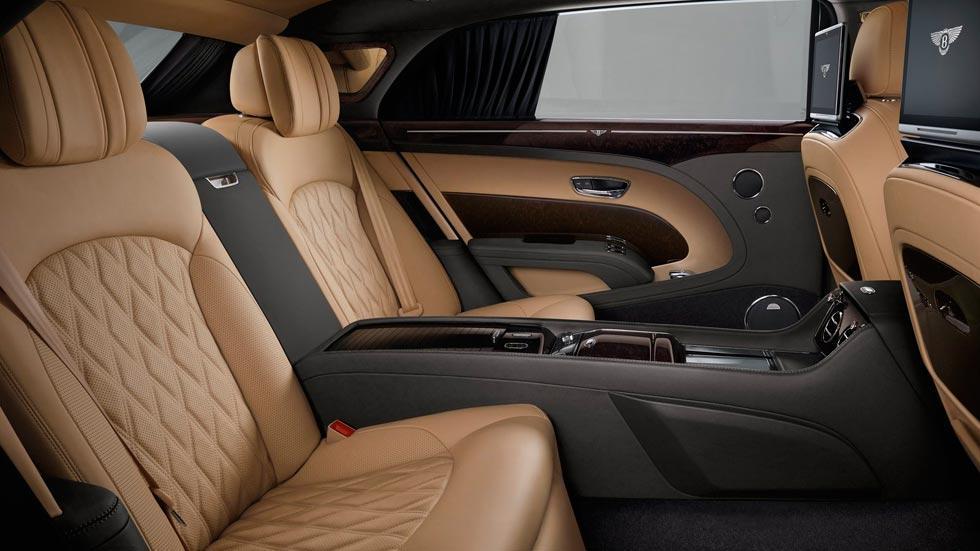 Bentley Mulsanne plazas traseras lujo superlujo coches limusina