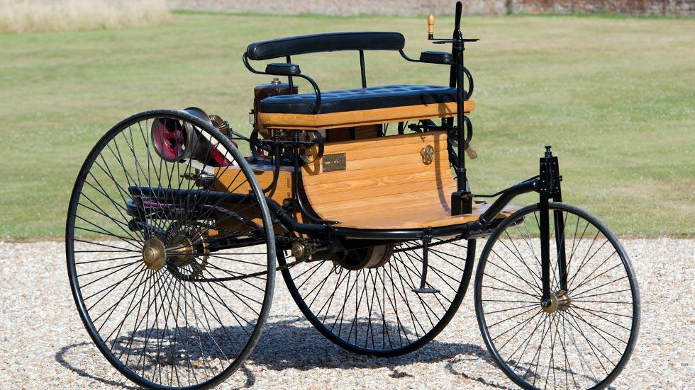 Benz Patent Motorwagen coches importantes historia primer triciclo