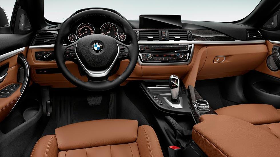 BMW 428i Cabriolet interior lujo cuero
