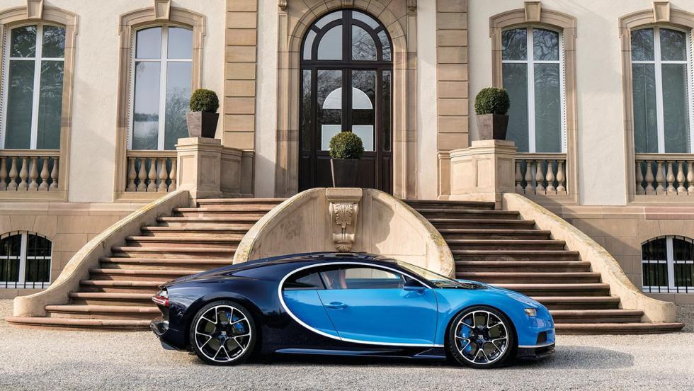 Bugatti Chiron: 2,3 millones de euros