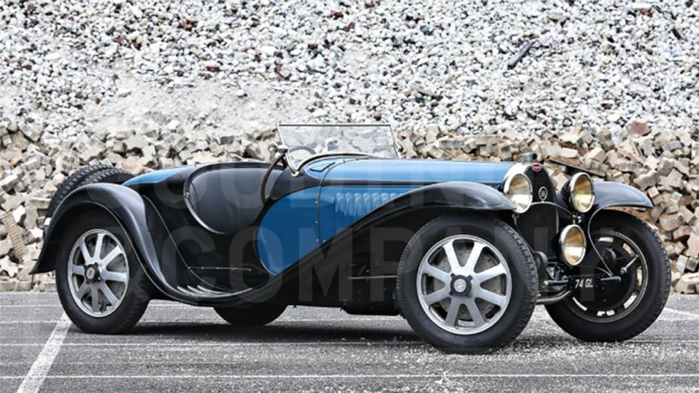 Bugatti Type 55 Roadster de 1932 - 10.400.000 dólares