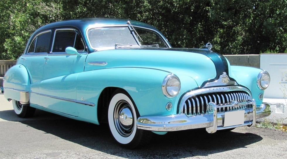 Buick Super Model 51 Sedan de 1948 - 9.075 dólares
