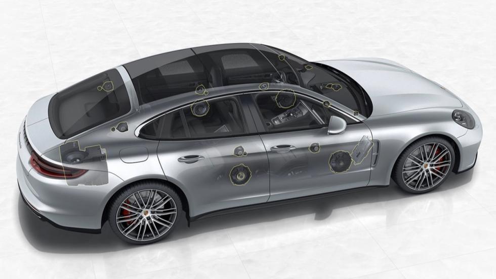 Burmester convierte tu Porsche Panamera en una sala de conciertos