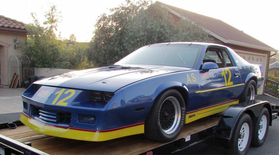 Chevrolet Camaro de competición de 1989 - 9.900 dólares